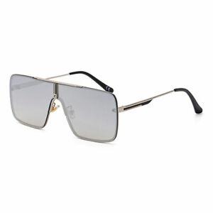 Designer Oversized Square Aviator Sunglasses Metal Bar Men/'s Women Fashion GAFAS