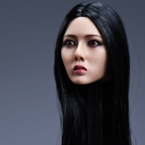 1//6 Scale Female Girl Long Hair Head Sculpt F 12/'/' TBLeague PH Body Figure