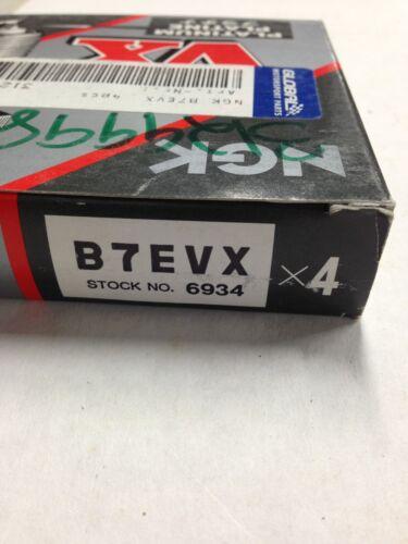 NGK B7EVX SPARK PLUGS 6934 package of 4