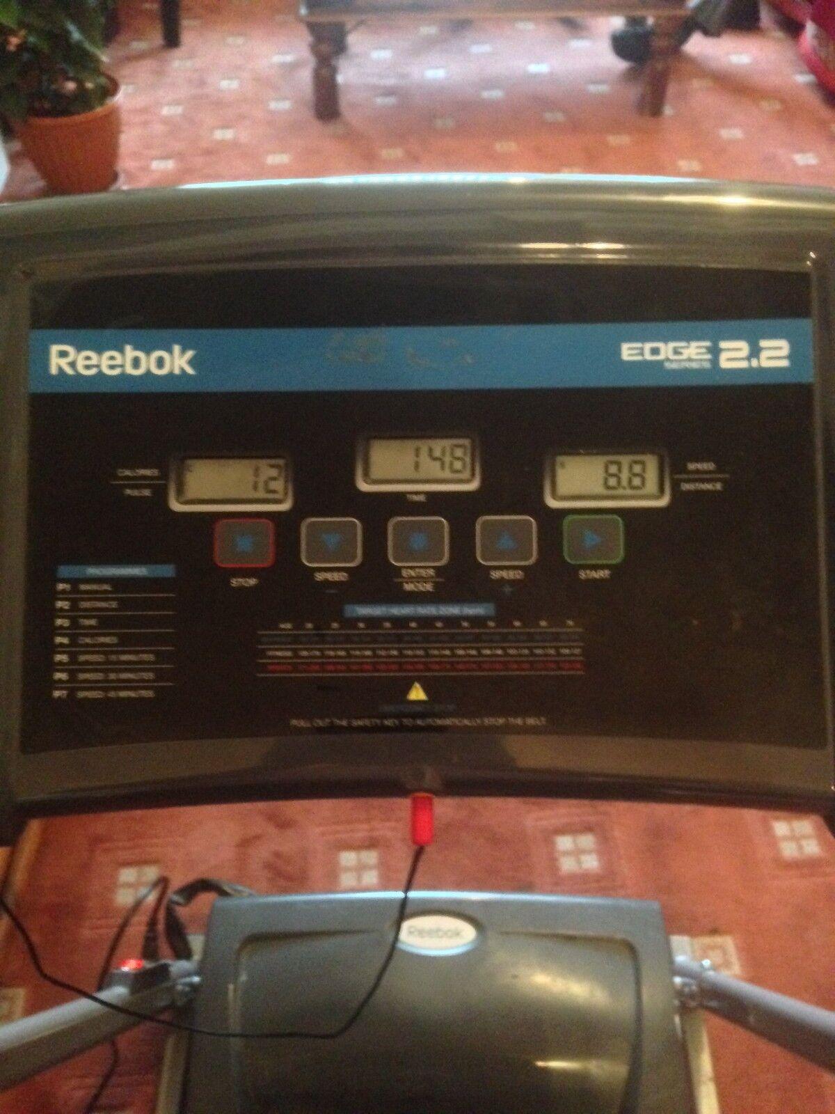 Reebok Edge course 2.2 Tapis de course Edge modèle-REOM - 11305 (1 Paire Bras fin Boutons En Vente uniquement) 68ccd7