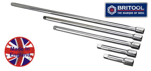 "US PRO 9pc 1//4/""-3//8/""-1//2/"" Dr Extension Bar Set Sockets 50-250mm B4190"
