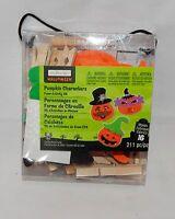 Halloween Pumpkin Characters Foam Activity Kit 211 Pc By Creatology 4+makes 13l