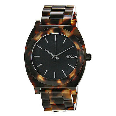 Nixon Time Teller Tortoise-shell Acetate Unisex Watch A327646