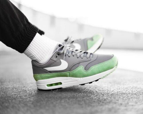 ❤ BNWB /& Genuine Nike ® Air Max 1 Retro Trainers in Grey /& Fresh Mint UK Size 7