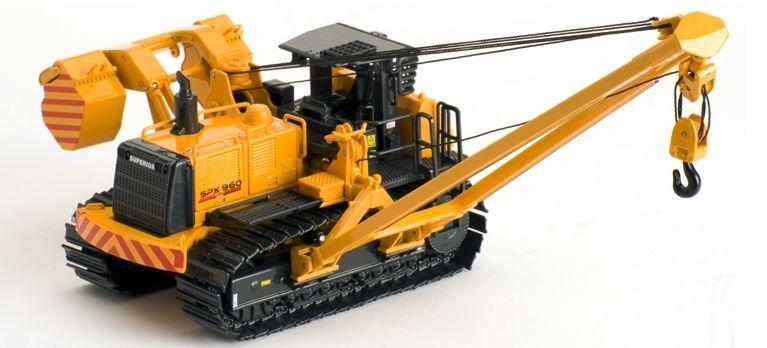 Ros Superior SPX960 (97 tonne) Constructeur de canalisations échelle 1 50