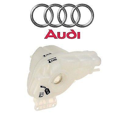 Audi A8 Quattro Engine Coolant Recovery Expansion Tank Genuine 4E0 121 403 G