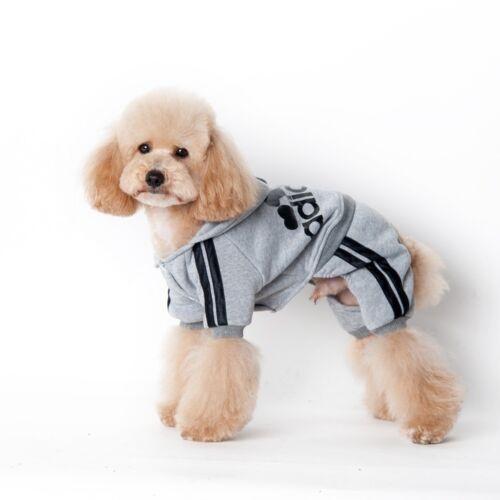 Winter Coat Hoodies New Apparel Clothes Warm Jumpsuit Dogs Cats Puppy Adidog Pet