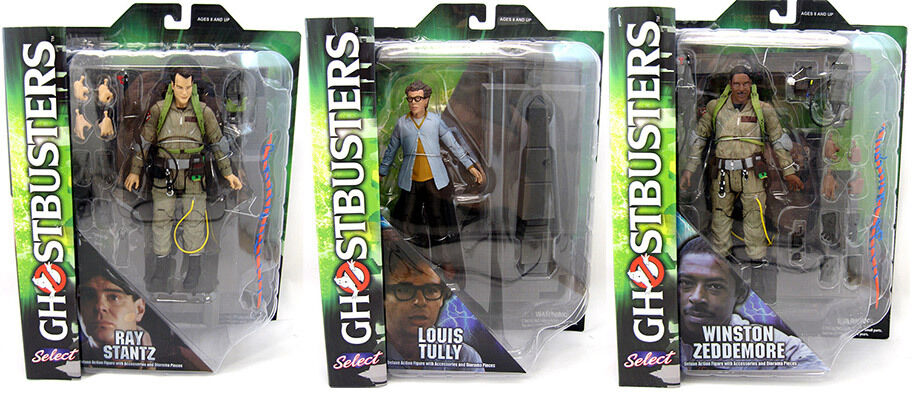 Ghostbusters - Diamond Select Series 1 Set of 3 pieces Action Figures