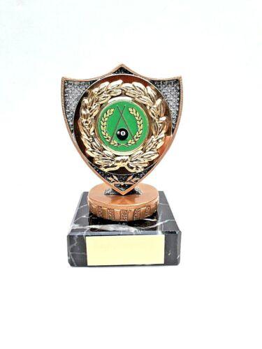 A1785A Résine Hockey Trophy Taille 14 Cm Gravure Gratuite
