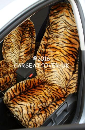 Mercedes A Class Gold Tiger Faux Fur Furry Car Seat Covers Full Set