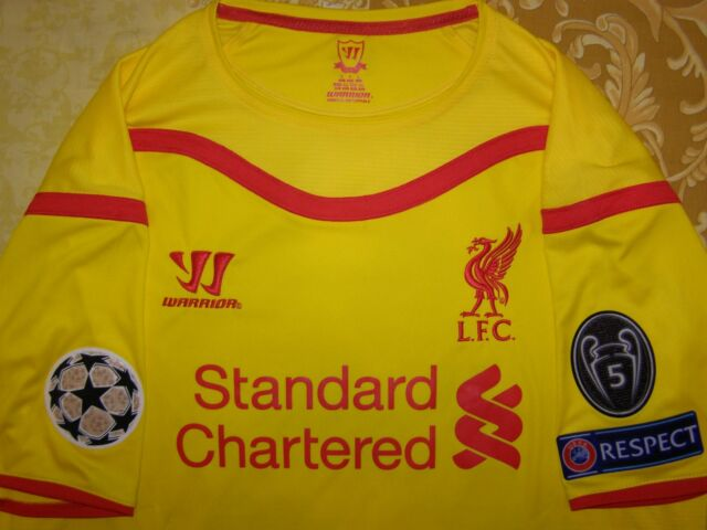 size 40 0a042 41be5 Liverpool Away Gerrard Shirt 2014 2015 L