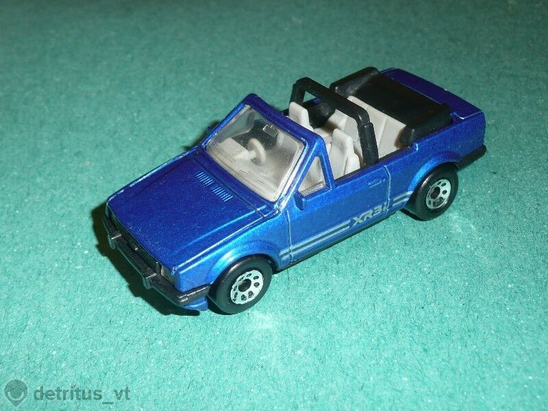 MATCHBOX Ford Escort Cabriolet  Very Rare in box