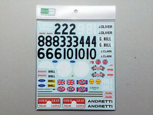 1-12-Lotus-49B-Ford-Gold-Leaf-039-1976-Decal-for-Tamiya