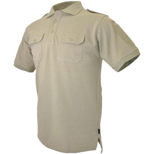 Hazard 4 LEO Uniform Replacement Battle Polo Mens Army Top Military Shirt Tan