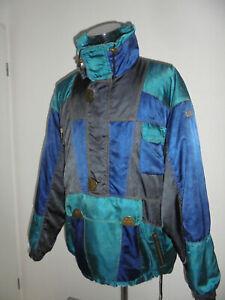 vintage-PROLINE-Jacke-Winterjacke-Ski-oldschool-90er-glanz-90s-anorak-XL-XXL