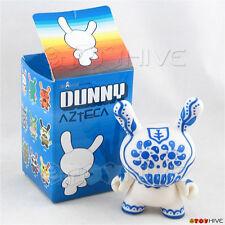 Kidrobot Dunny 2007 Azteca Series 1 Artemio Blue vinyl figure with box