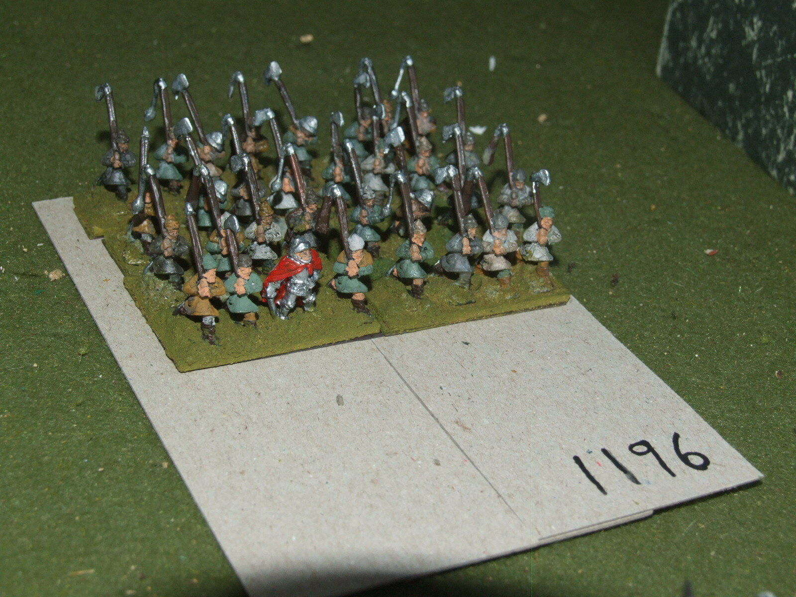 15mm medieval   hussite - Polearmsmen 32 Infantry - inf (A1196)