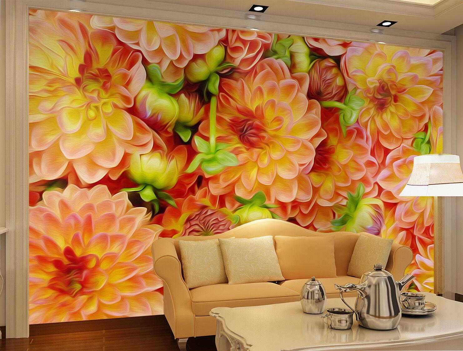 3D Gorgeous Blossom 85 Wall Paper Murals Wall Print Wall Wallpaper Mural AU Kyra