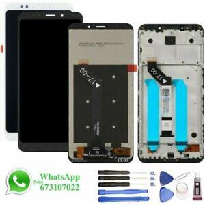 Pantalla-para-Xiaomi-Redmi-5-Plus-CON-Sin-MARCO-LCD-Tactil-Tactil-Negra-Blanca