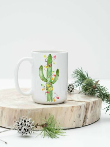 Christmas Cactus  Mug Cactus Cup Cactus Gift Cactus Coffee Cup Mug