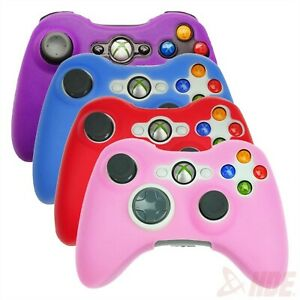Xbox 360 Controller Skin 4 Pack Silicone Rubber Protective Grip Case Pad Cover