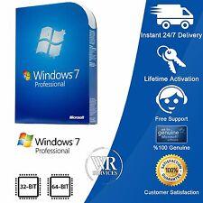Microsoft Windows 7 Professional PRO -32/64 Bit With SP1 (with HD) Original