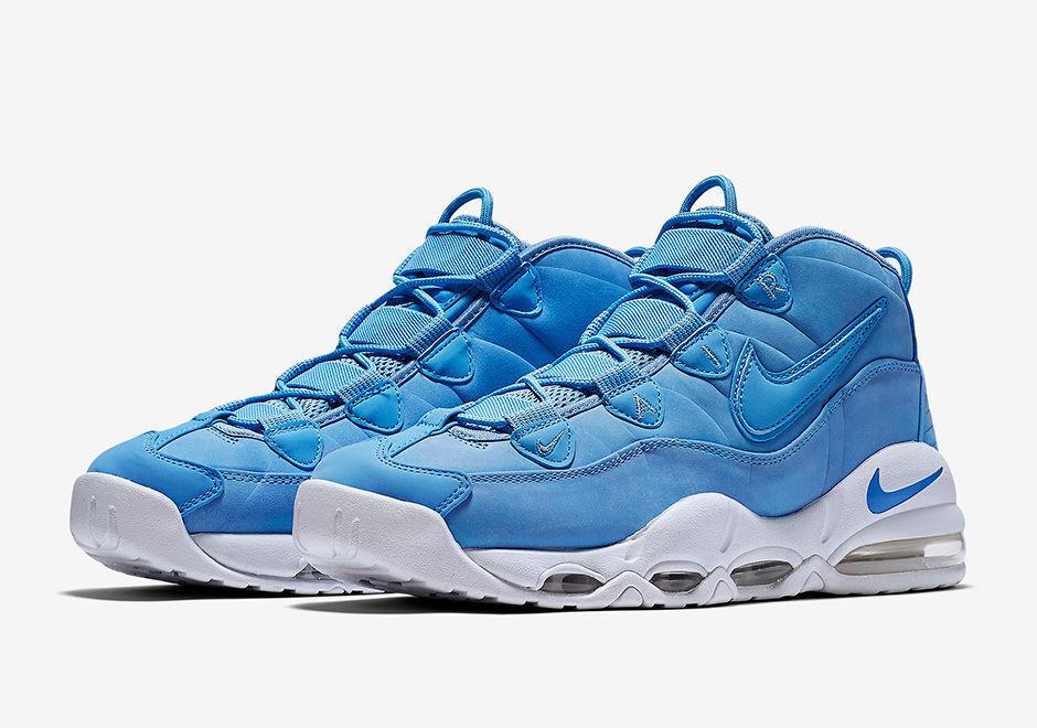 Nike Air Max Uptempo hombres '95 en QS VNU hombres Uptempo azules talla 9 nuevos 92293400 5d8f60