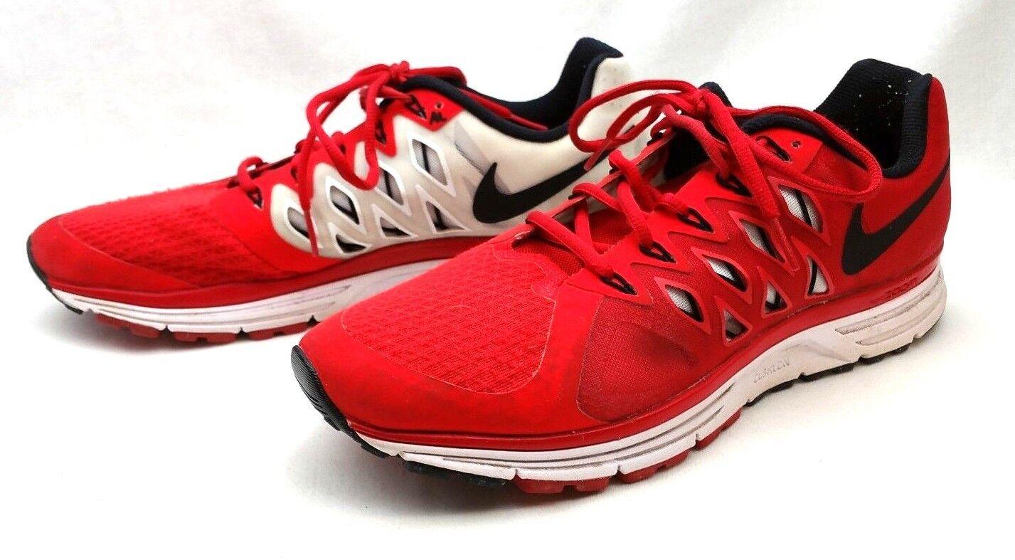 Nike Vomero 9 9 9 Red & White Running Cross Training Men's 11.5 CUSHLON ZOOM FITSOLE 050ec7