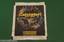 BUSTINA CALCIATORI CAMPIONATO 2014 2015 14 15 VERSIONE RARA FIGURINE PANINI