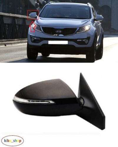KIA SPORTAGE 2010-2015 NEW WING MIRROR ELECTRIC 7PIN RIGHT N//S LHD