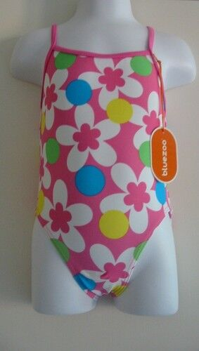BNWT bluezoo Pink Flower Swimsuit 12-18 & 18-24 Month