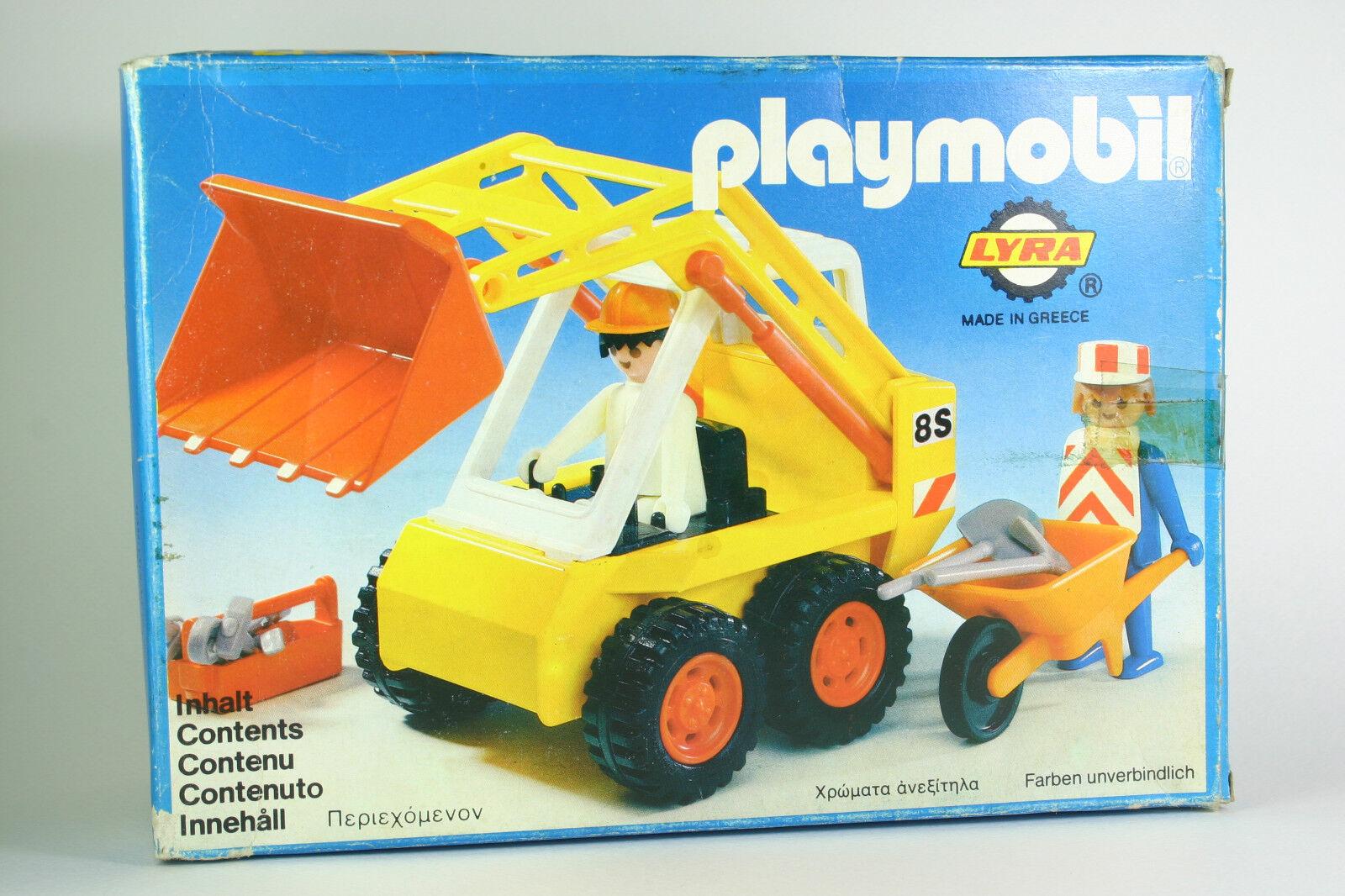 VERY RARE Bulldozer Bulldozer Bulldozer Playmobil Nr 3507 LYRA GREECE 1980 EARTHWORKERS SEALED BAG 7ae889