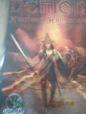 100% Vero D&d 3e 3.5e D20 Demone Cacciatori Manuale Gmg Rpg In Buonissima Condizione Dungeon Dragon-mostra Il Titolo Originale