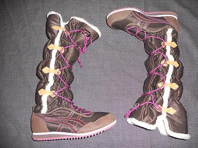 ASICS ONITSUKA TIGER Damen Schuhe Stiefel Winterstiefel Schnee Bequem Gr.40,5 | eBay