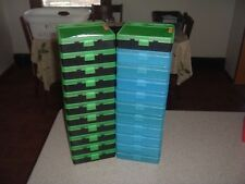 100 round MTM AMMO BOXES  (Used)  .40 cal .45 cal