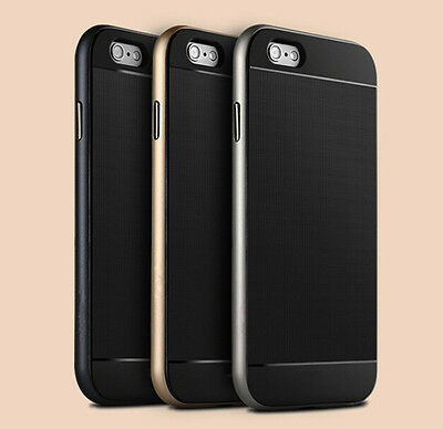 New Hybrid  Rubber Shockproof Bumper Phone Cover Case For iPhone 6 6S &Plus