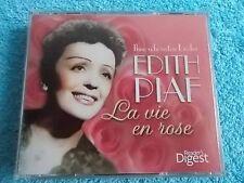 Edith Piaf 3-CD Reader's Digest Ihre Schönsten Lieder - La Vie En Rose