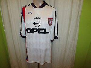 Fc-Bayern-Munich-original-adidas-UEFA-Cup-vencedor-camiseta-1996-034-Opel-034-talla-XXL