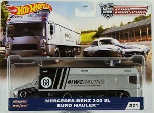 Hot-Wheels-2020-cultura-coche-transporte-de-equipo-Mercedes-Benz-300SL-euro-Hauler-Camion