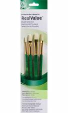 Natural Bristle Real Value Brush Set 3//Pkg 757063918468