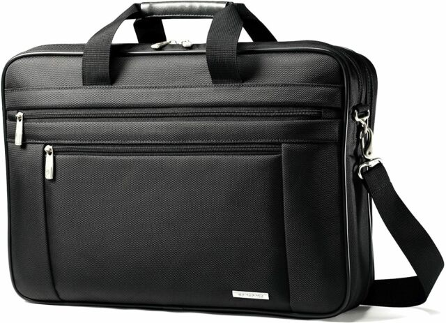 Samsonite Black Laptop Bag Briefcase