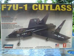 LINDBERG-1-48-VOUGHT-F7U-1-CUTLASS-70506-factory-sealed