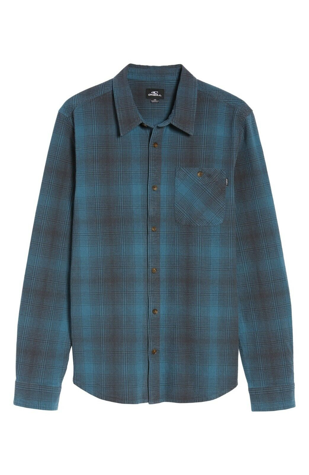 O'Neill Easton Shirt (M) Dark Teal