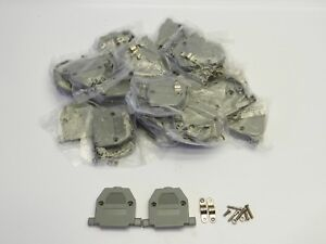10 Pairs Nuts and Screws 5MM+7MM for D-Sub DB9 DB15 DB25 Connector LU