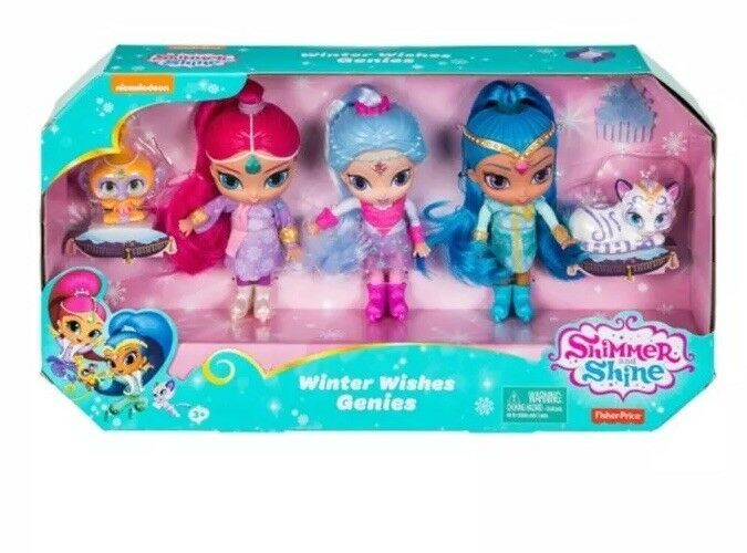 Shimmer And Shine Winter Wishes Genies Doll