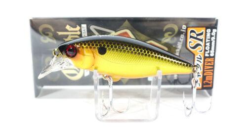 6823 Jackall Chubble SR Minnow Floating Lure Gold /& Black