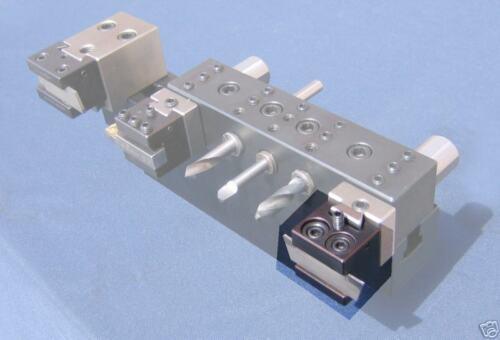 Haas OmniTurn SNK Cutoff gang tool adjustable holder