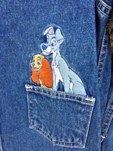 nuovo Quasi Jacket Donna M Disney Sz Blazer Sale Rare Catalogo Lady Tramp Denim f5dWzq