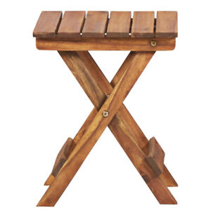 Small Wooden Plant Stand Patio Balcony, Small Wooden Table For Garden