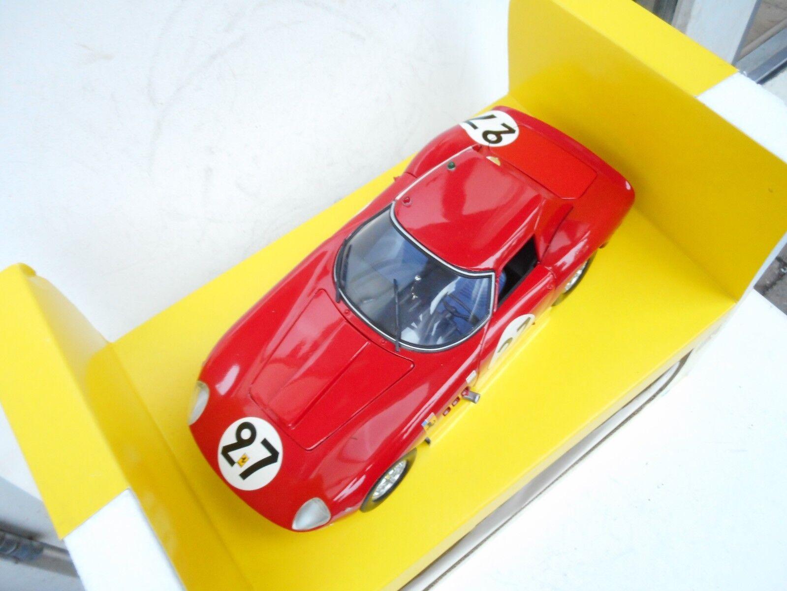 Ferrari 250 gto 1964   24 1   18 jouef entwicklung revell superbb geboxt.